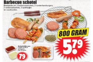 barbecue schotel nu voor maar euro579