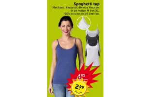 spaghetti top