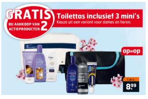 toilettas inclusief 3 minis