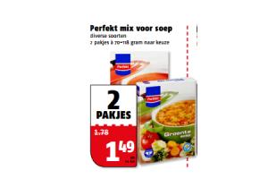 perfekt mix voor soep