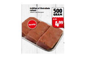 grillfilet of filetrollade culinair