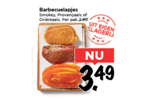 barbecuelapjes