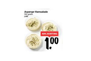asperge hamsalade