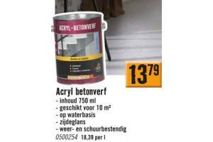 acryl betonverf