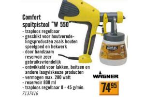 comfort spuitpistool w 550