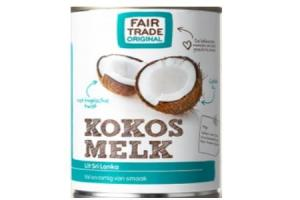 fair trade kokosmelk