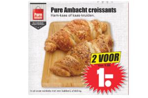 pure ambacht croissants
