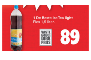 1 de beste ice tea light