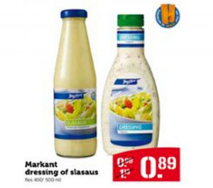 markant dressing of slasaus