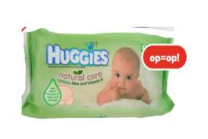 huggies natural care lotiondoekjes