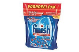 finish vaatwastabletten 100 tabletten regular