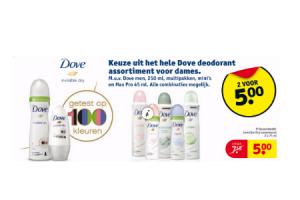 dove deodorant voor dames