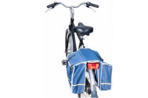 dubbele fietstas