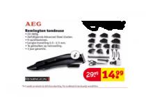 remington tondeuse