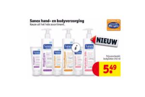 sanex hand  en bodyverzorging