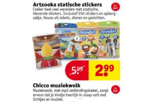 artzooka statische stickers