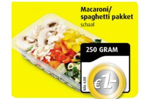 macaronispaghetti pakket