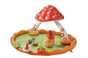 paddenstoelen speelzwembad 180 x 150 x 90 cm