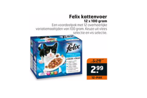 felix kattenvoer 12 x 100 gram