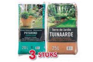 potgrond of tuinaarde