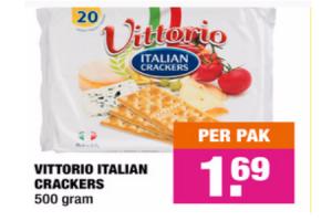 vittorio italia crackers