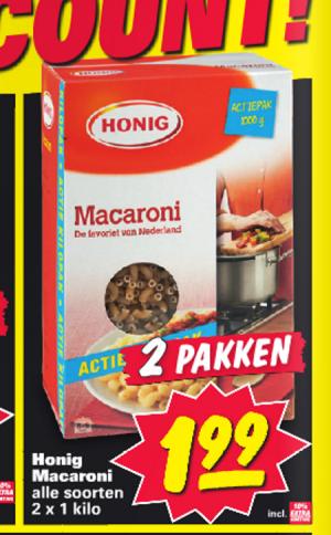 honig macaroni