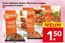 italiaanse blokjes mexicaanse reepjes pepersteak of stukjes