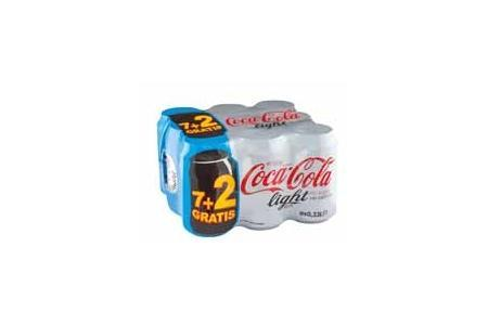 coca cola light 9 pack