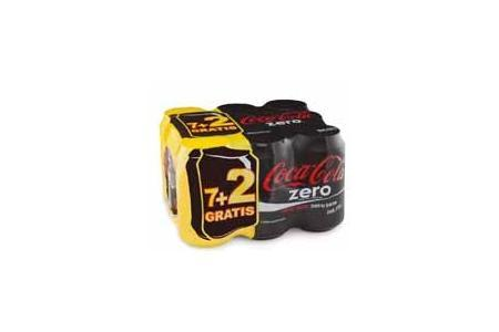 coca cola zero 9 pack