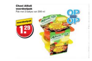 chovi ailioli voordeelpak