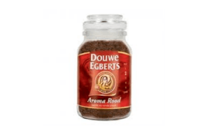 douwe egberts oploskoffie aroma rood
