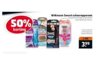 wilkins sword damesscheerapparaat
