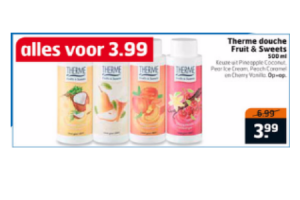 therme douche fruit  sweets