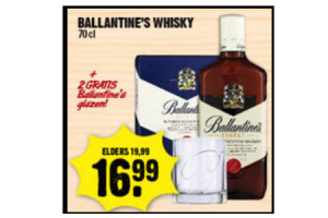 ballentines whisky kadoset