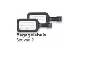 bagagelabels
