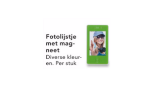fotolijstje met magneet