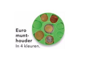 euromunt houder