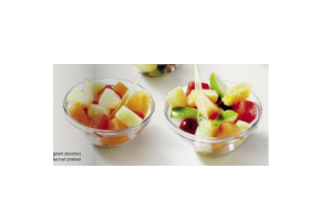 fruitsalade of sap of tropische fruitsalade
