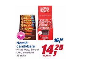 nestle candybars