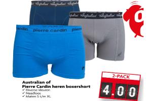 australian of pierre cardin heren boxershort