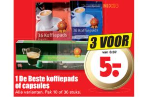 1 de beste koffi epads of capsules