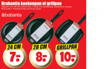 brabantia koekenpan of grillpan