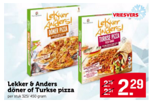 lekker  anders doner of turkse pizza