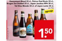verschillende soorten speciaal bier