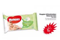 huggies billendoekjes natural care