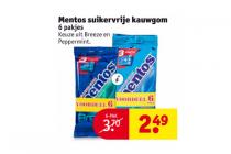 mentos suikervrije kauwgom