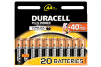 duracell aa plus power 20 stuks