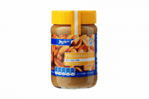 markant pindakaas met stukjes pinda