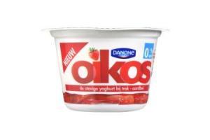danone oikos yoghurt aardbei