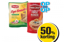 finn crisp rye snacks of finse ronde
